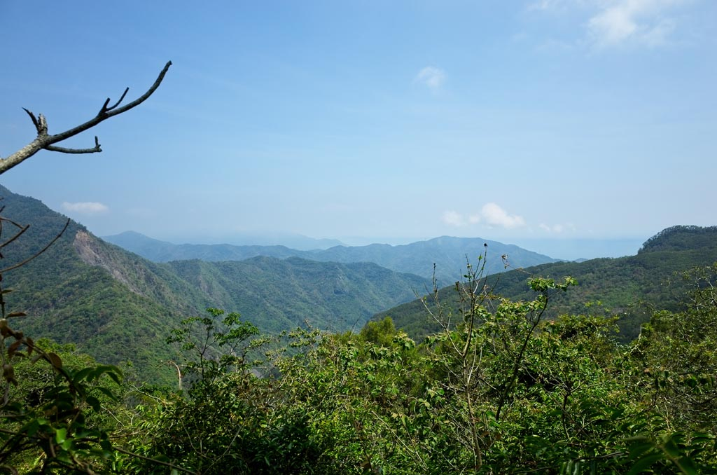 Typical Taiwan mountain view