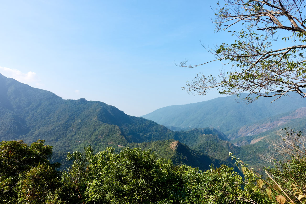 Panaromic mountain view - ZuMuShan 足母山