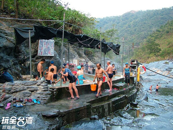 Duona hot springs before it was destroyed - ZuMuShan 足母山