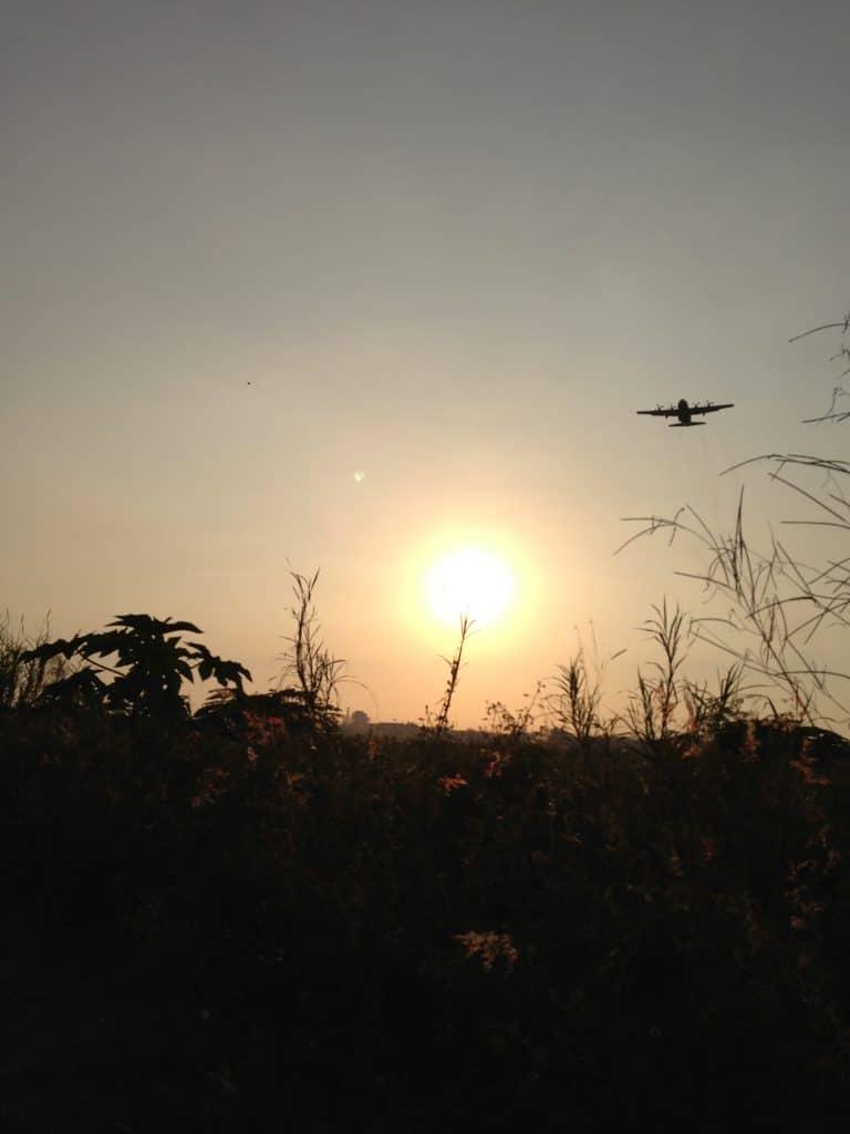 C130 Flying Overhead