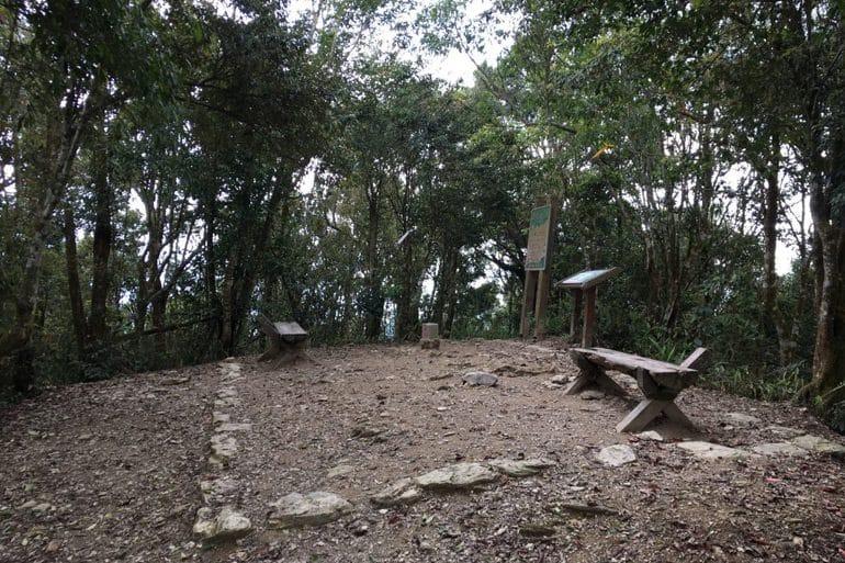 Weiliaoshan - 尾寮山-back trail Peak area