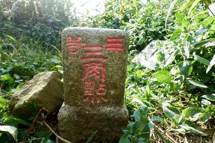 NuRengShan - 女仍山 triangulation marker - backside
