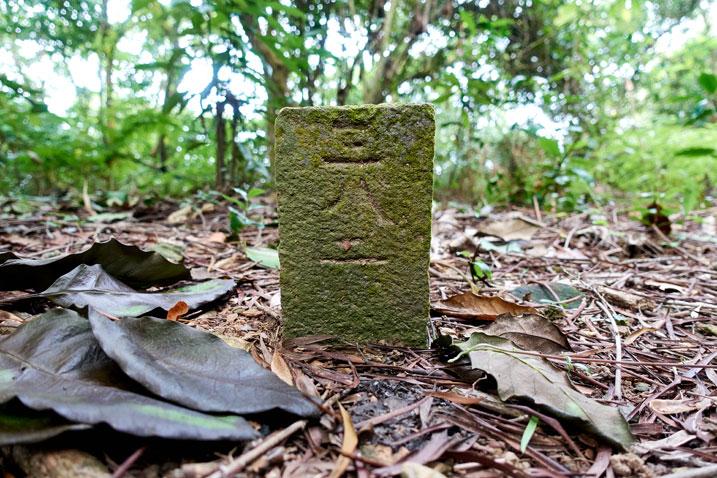 Triangulation stone