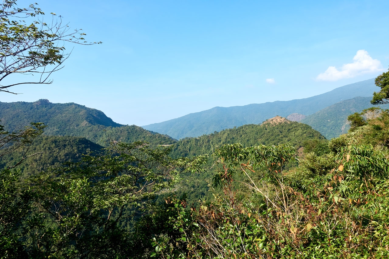 Panoramic mountain view - ZuMuShan 足母山