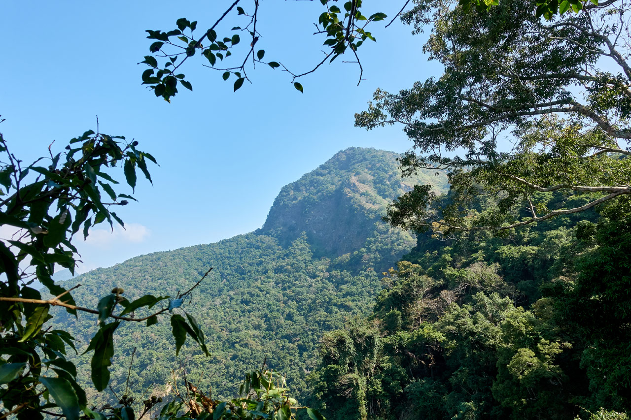 Panoramic mountain view of ZuMuShan 足母山
