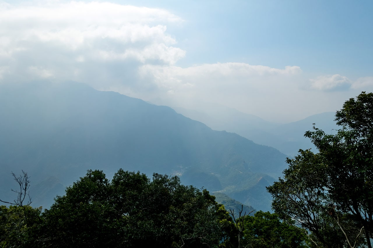 Mountain view from ZuMuShan 足母山