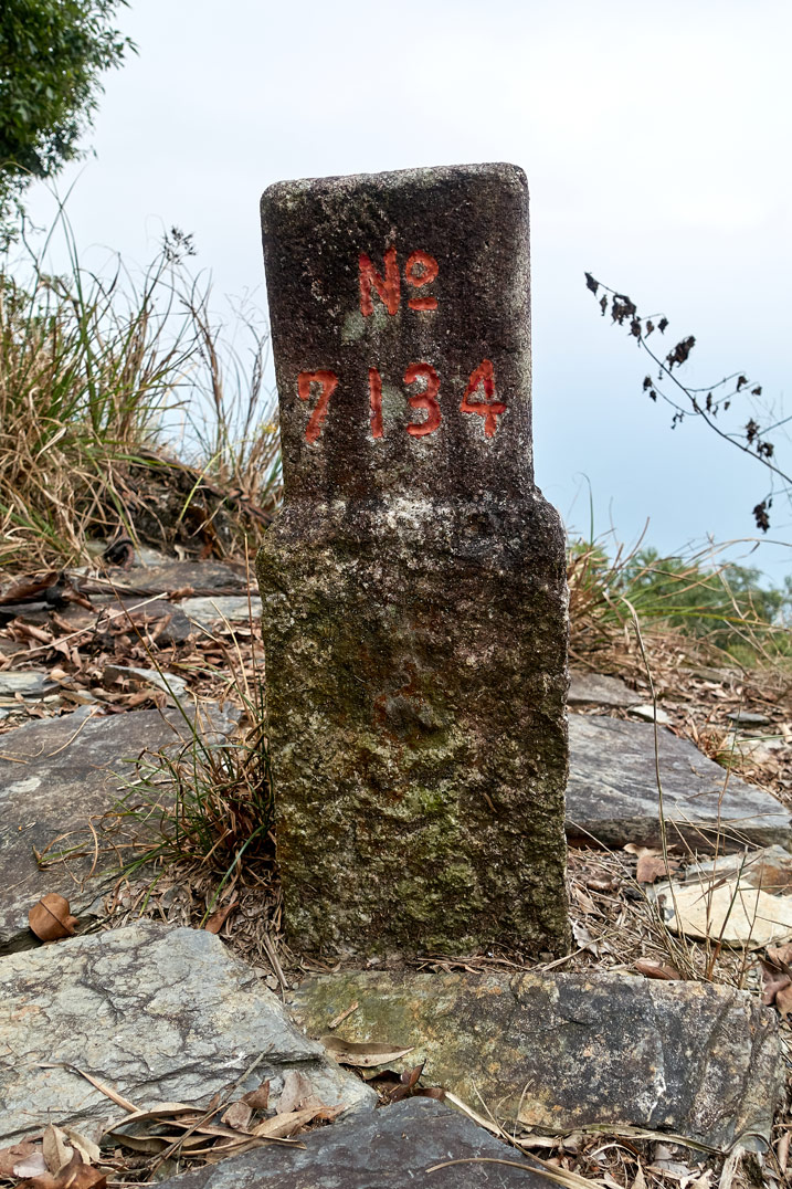 ZuMuShan 足母山 triangulation stone