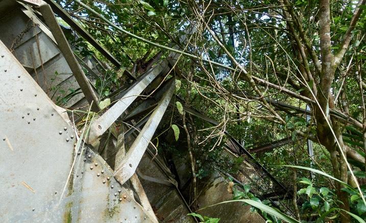 Remains of Passive radio repeater