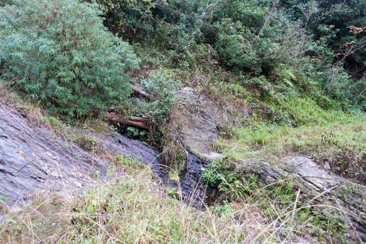Mountain stream - broken road