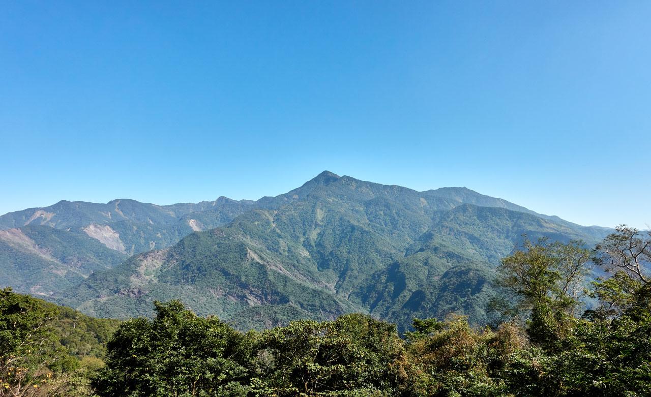 Mountain Landscape - blue sky